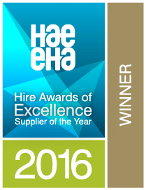 inspHire won the HAE Supplier of the Year 2016 Award